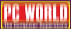 altered pc world logo