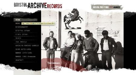 bristolarchiverecords.com website screen grab