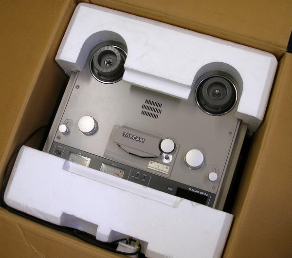 Tascam BR 20 reel to reel tape recorder