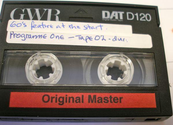 D120 broken DAT tape
