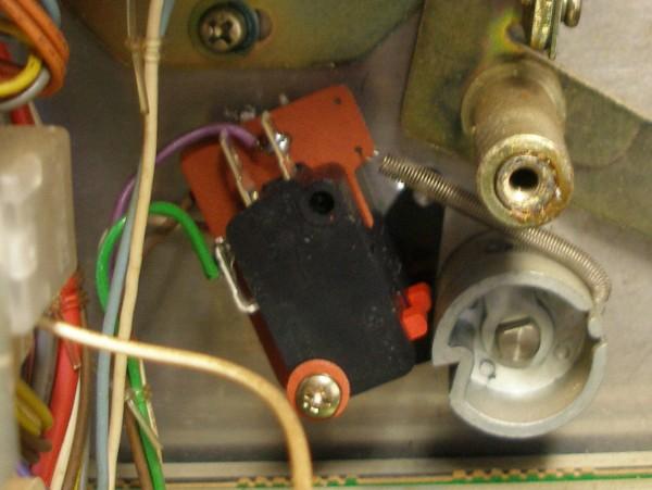 teac a-3440 capstan motor micro switch