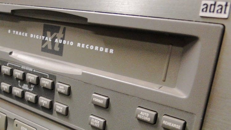 Alesis ADAT 8 track digital audio recorder