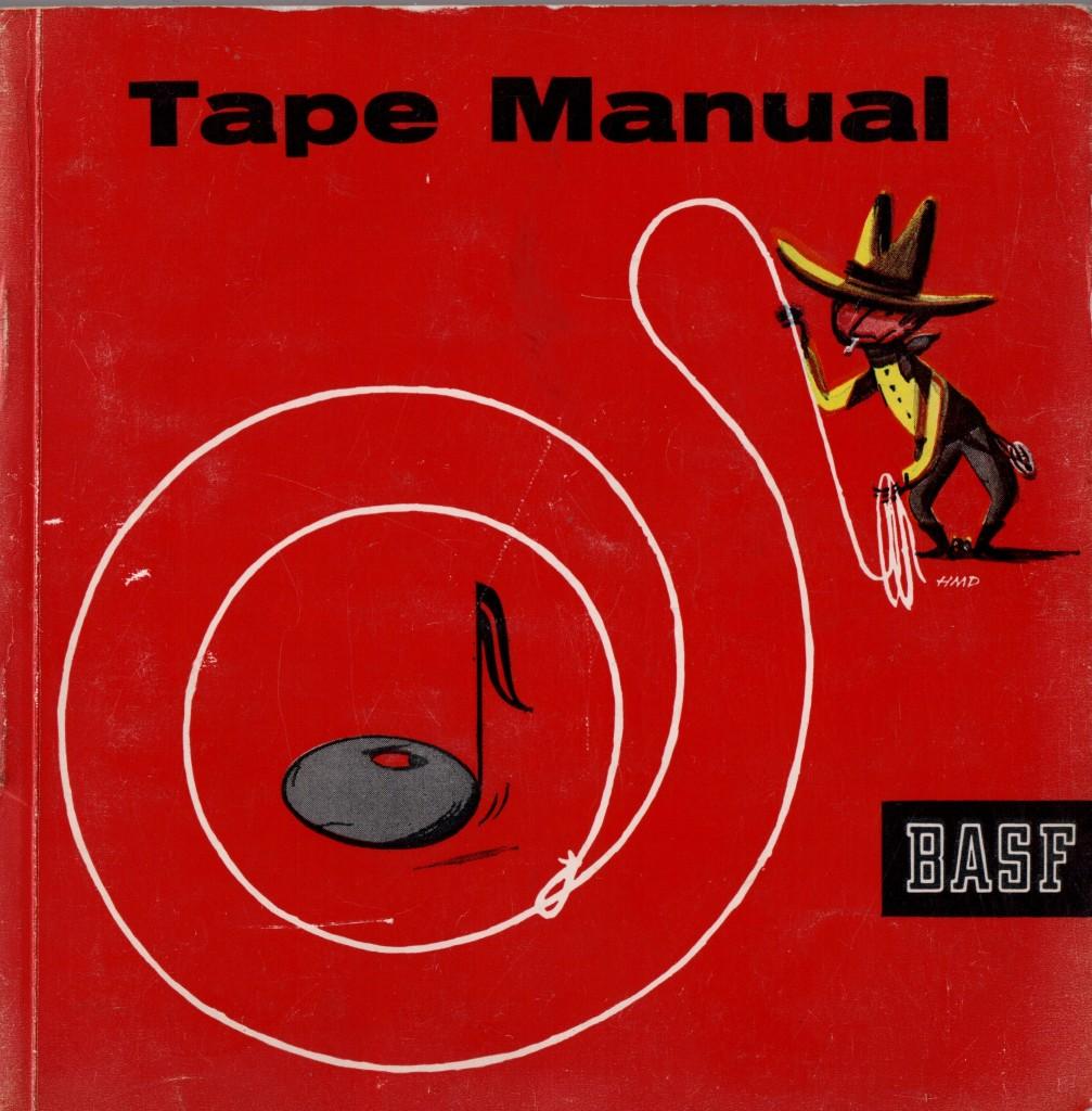 Tape Book Cover