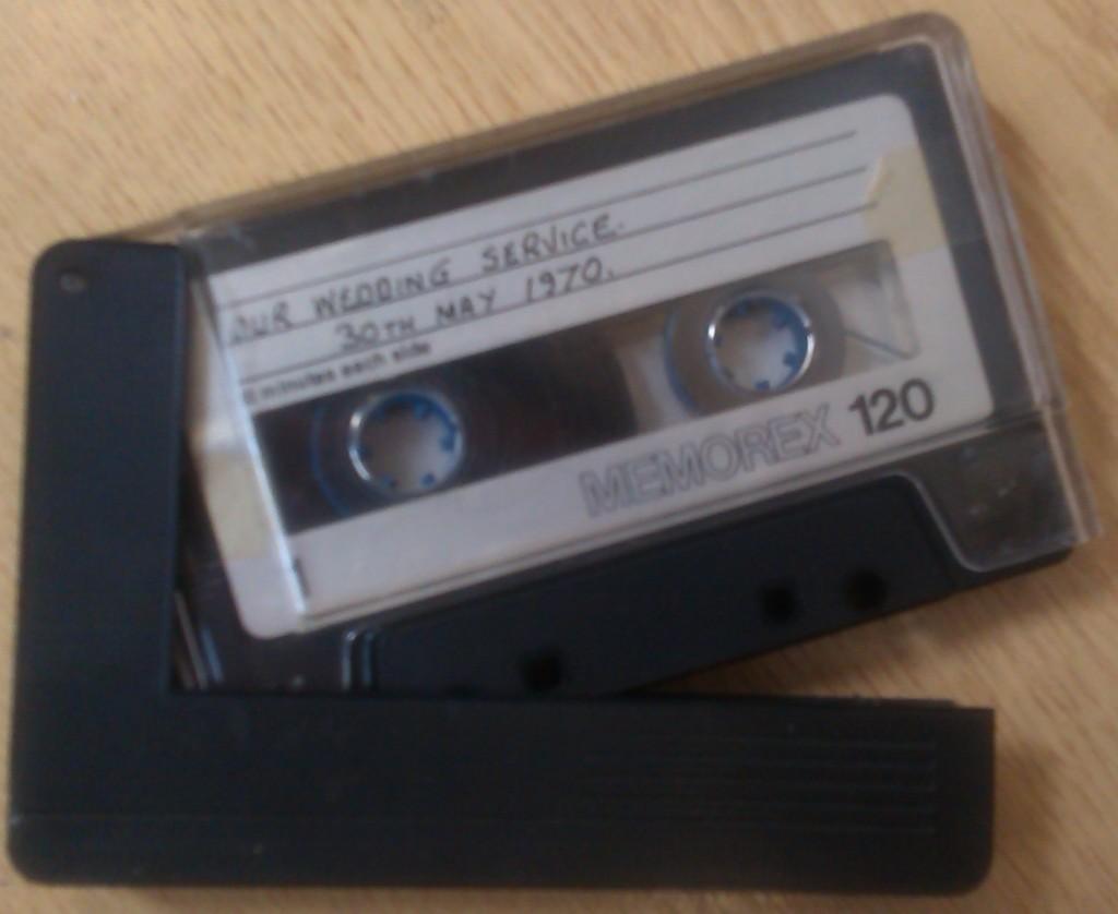 C-120 Audio Cassette