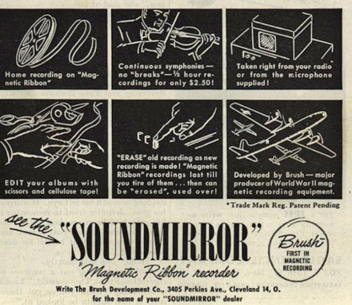 Soundmirror advert