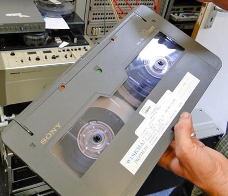 D-1, D-2 & D-3: histories of digital video tape