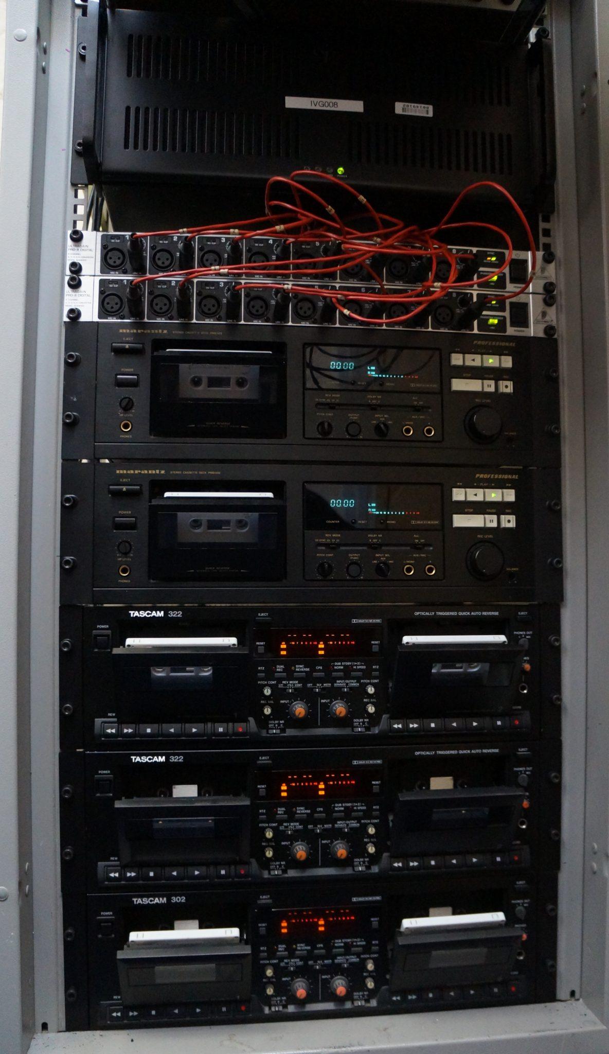 Audio Cassette Parallel Ingests