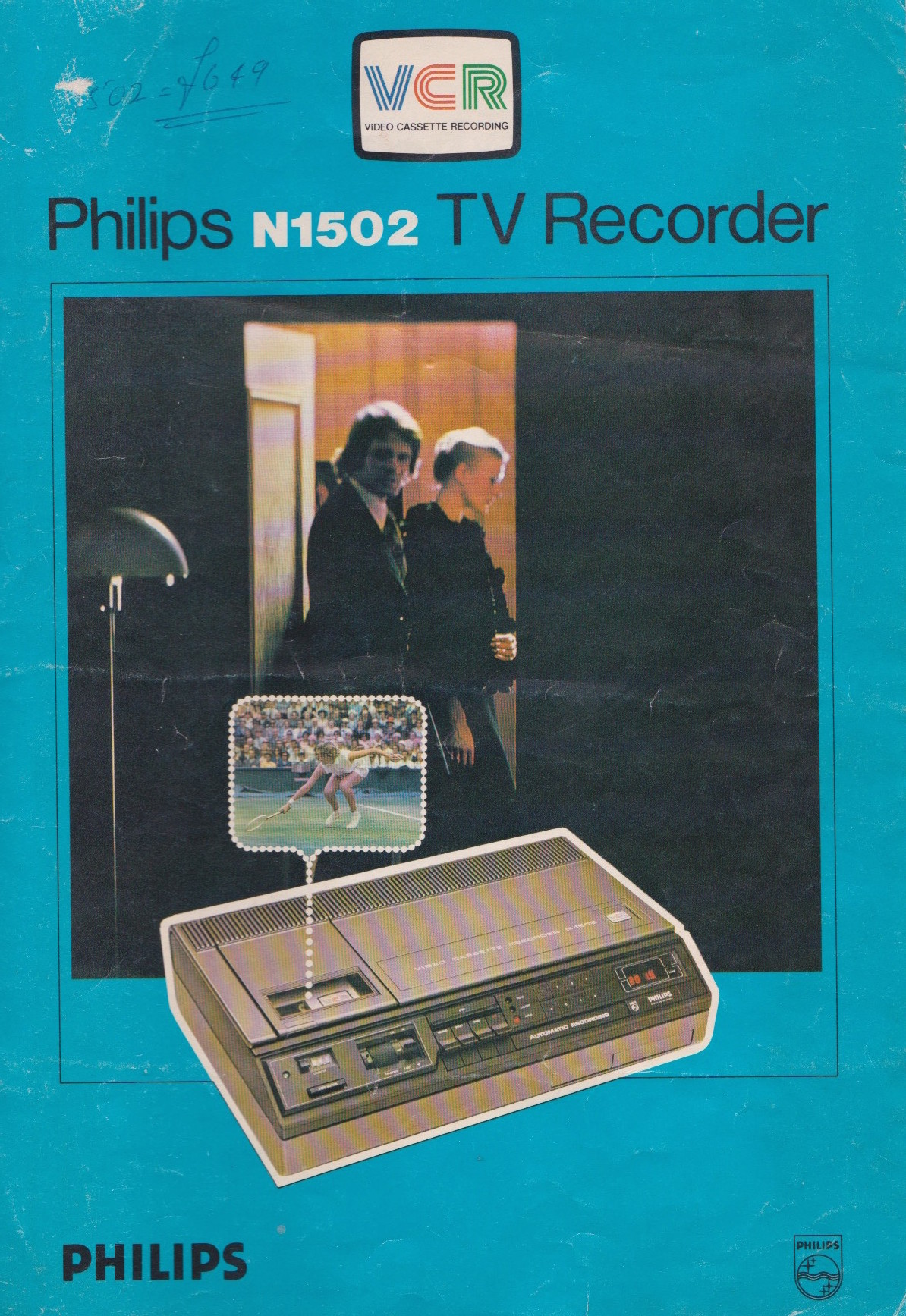 Philips N-1502 TV Recorder